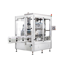 PLC controlled piston filling machine