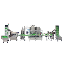 Lotion filling and capping machine