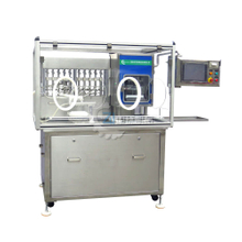 Prefillable syringes filling and closing machine