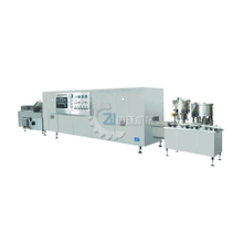 Full Auto Production Linked Line with Washing Machine Oven Filling