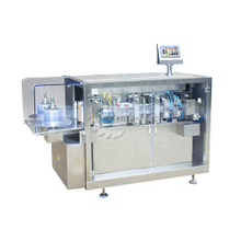 automatic filling and sealing machine for forming the plastic bottle of oral liquid