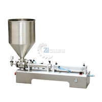 One Head Ointment Filling Machine