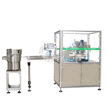Perfume filling and capping machine